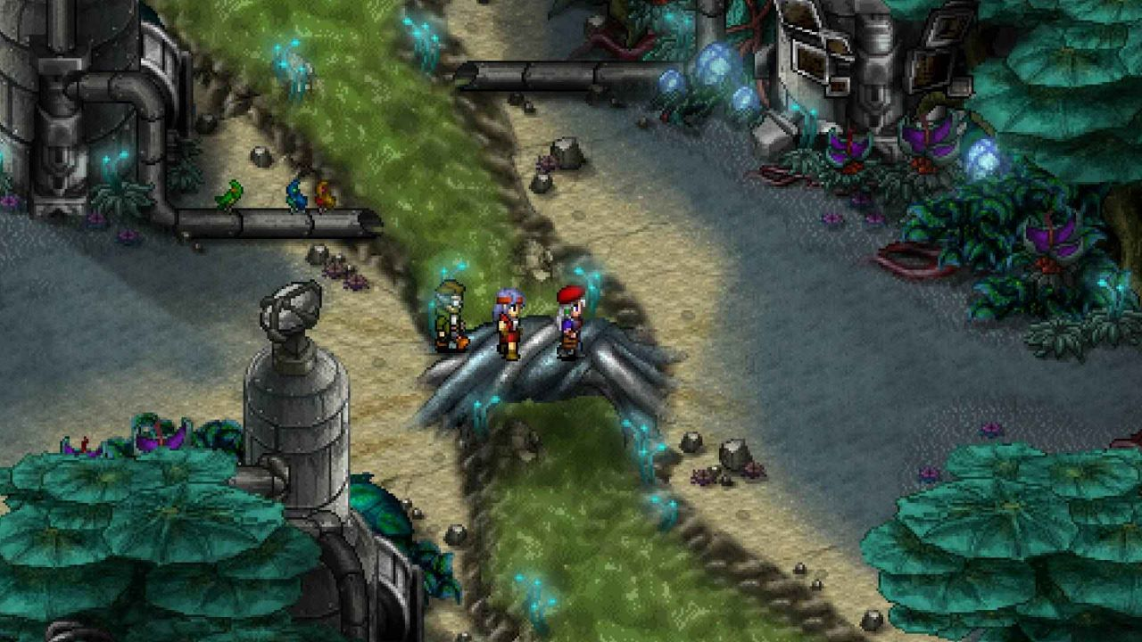 Cosmic Star Heroine dev alleges that Nintendo could have done more to promote the Switch port screenshot