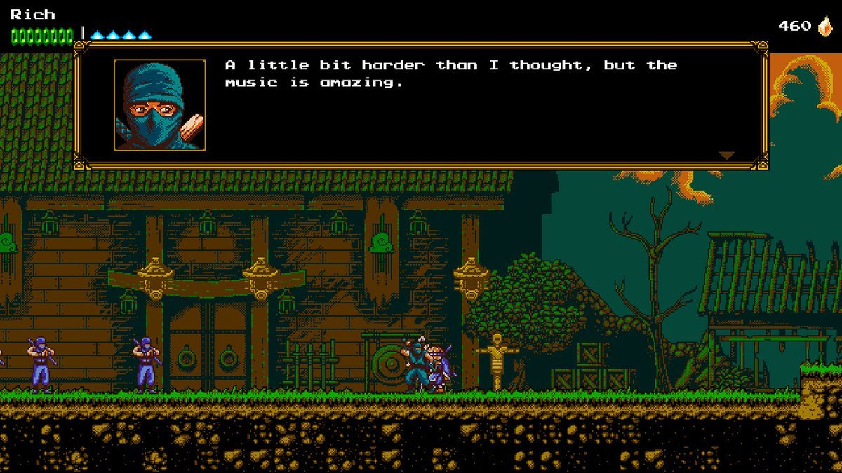 Nintendo Download: The Messenger screenshot