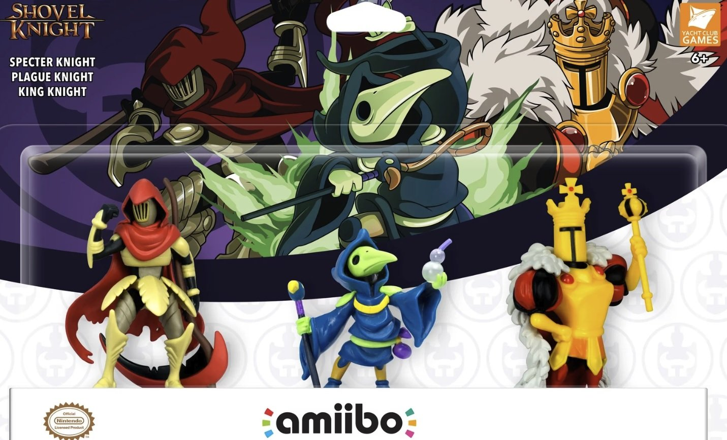 Shovel Knight's long-awaited amiibo three-pack will arrive in April 2019 along with the final two expansions screenshot