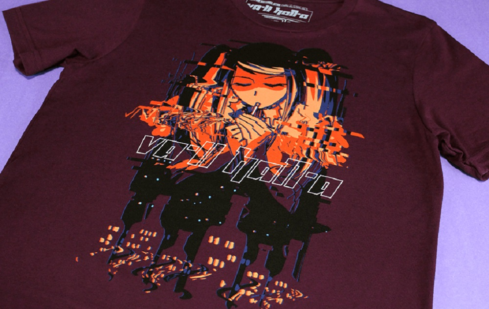 I bet you'd look fine in this ace Va-11 Hall-a shirt from Fangamer  screenshot