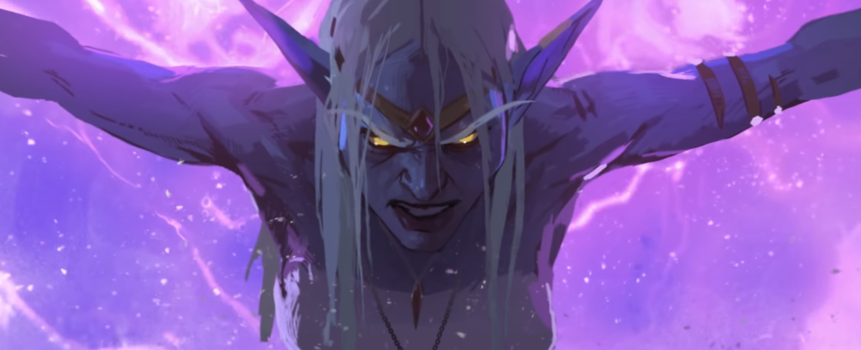 World of Warcraft's formidable Queen Azshara gets a stunning new introduction for the latest expansion screenshot