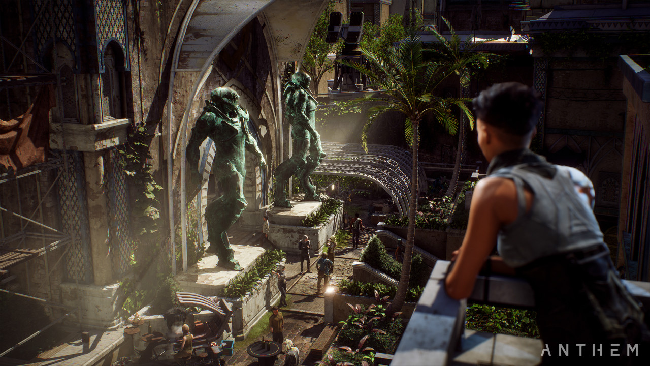 BioWare stresses that Anthem is about 'our world, my story'