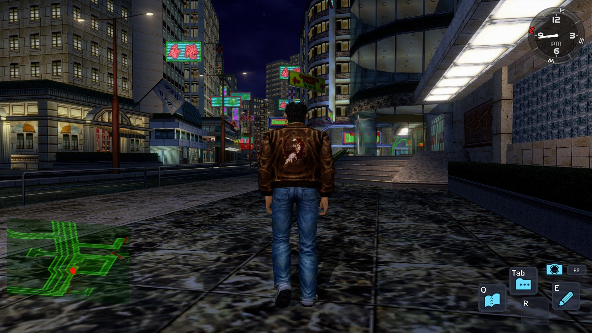 Shenmue and Yakuza are really not that similar