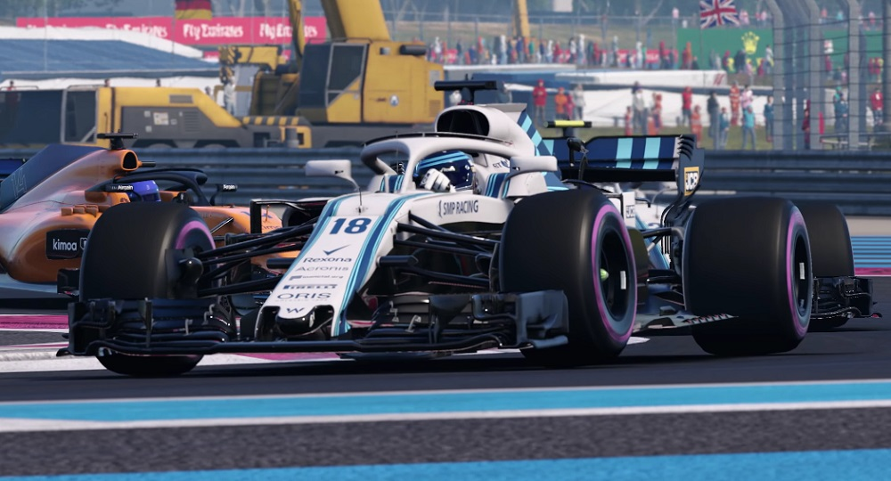 F1 2018 takes the UK Chart podium as Shenmue I & II peaks hard screenshot