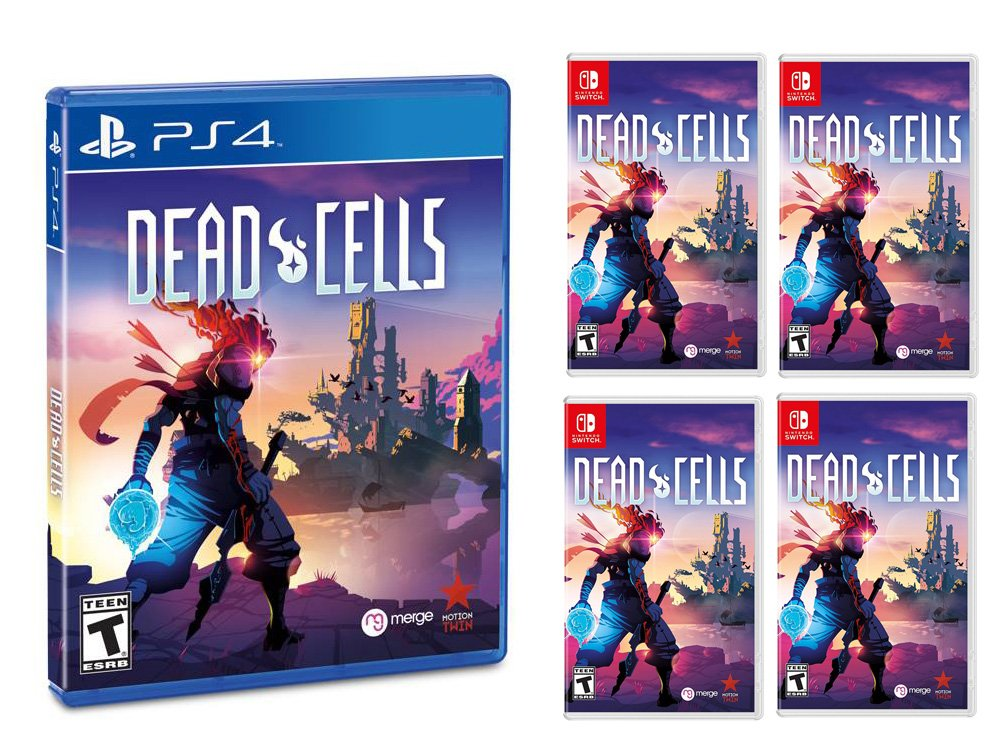 Dead Cells Switch is outselling the PS4 version by a factor of four to one screenshot