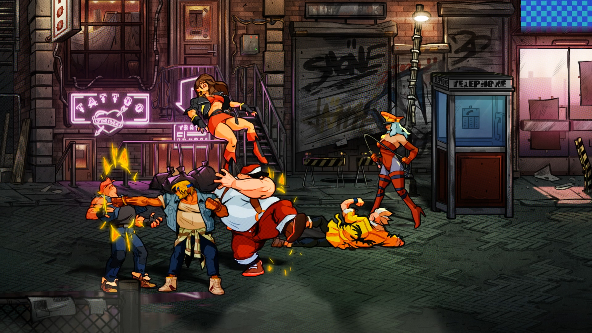 With Streets of Rage 4 and Windjammers 2, Dotemu shows it has a nose for nostalgia screenshot