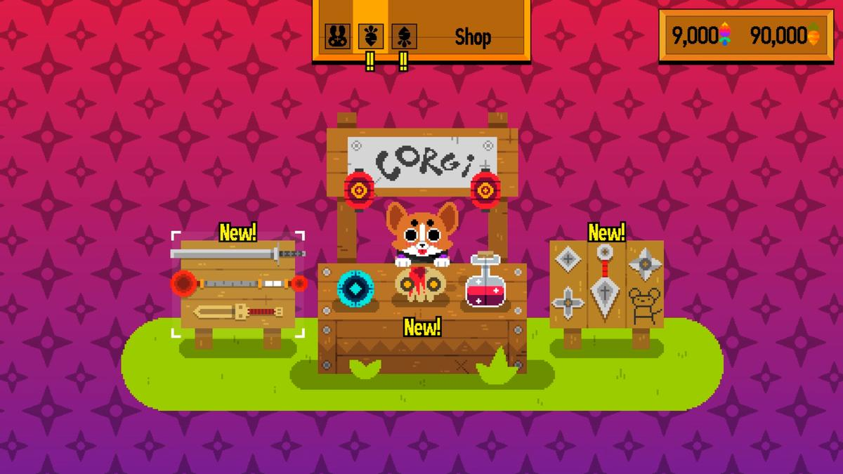 Giveaway: Fight for your food in Ninjin: Clash of Carrots screenshot