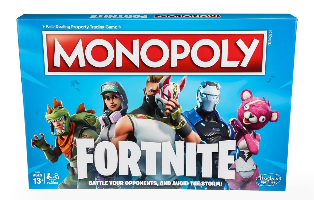 Fortnite Monopoly sends you directly to jail, do not pass 'Go', do not collect $200 screenshot