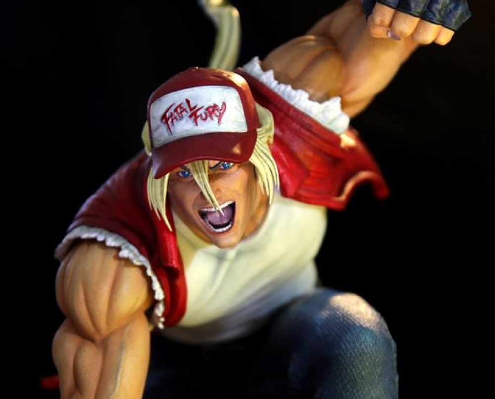 You could burn (knuckle) 700 bucks on this Terry Bogard statue screenshot
