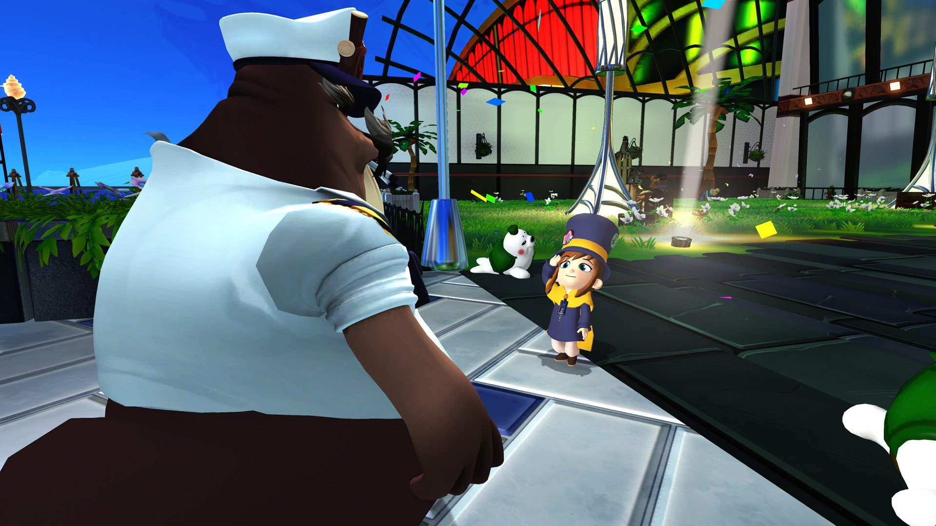 Review: A Hat in Time: Seal the Deal screenshot