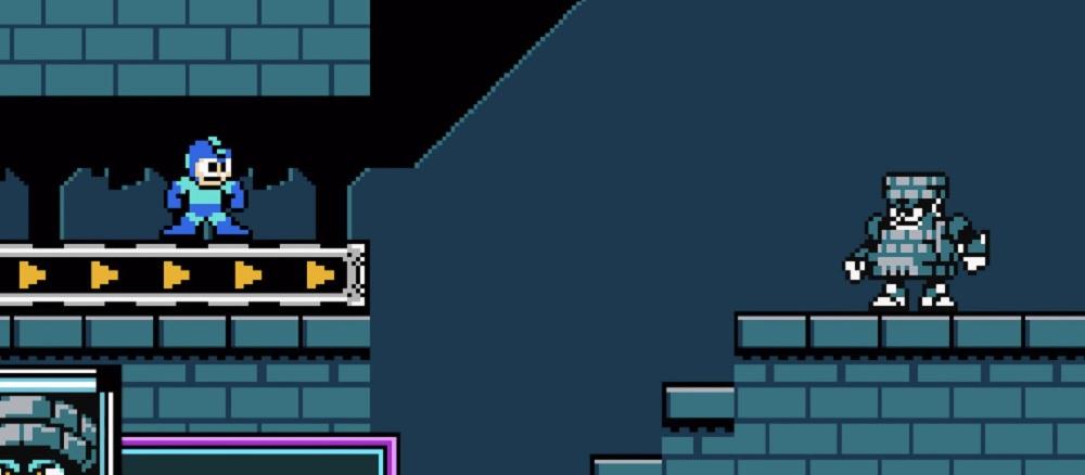 This Mega Man 11 8-bit Block Man remix rocks, man screenshot