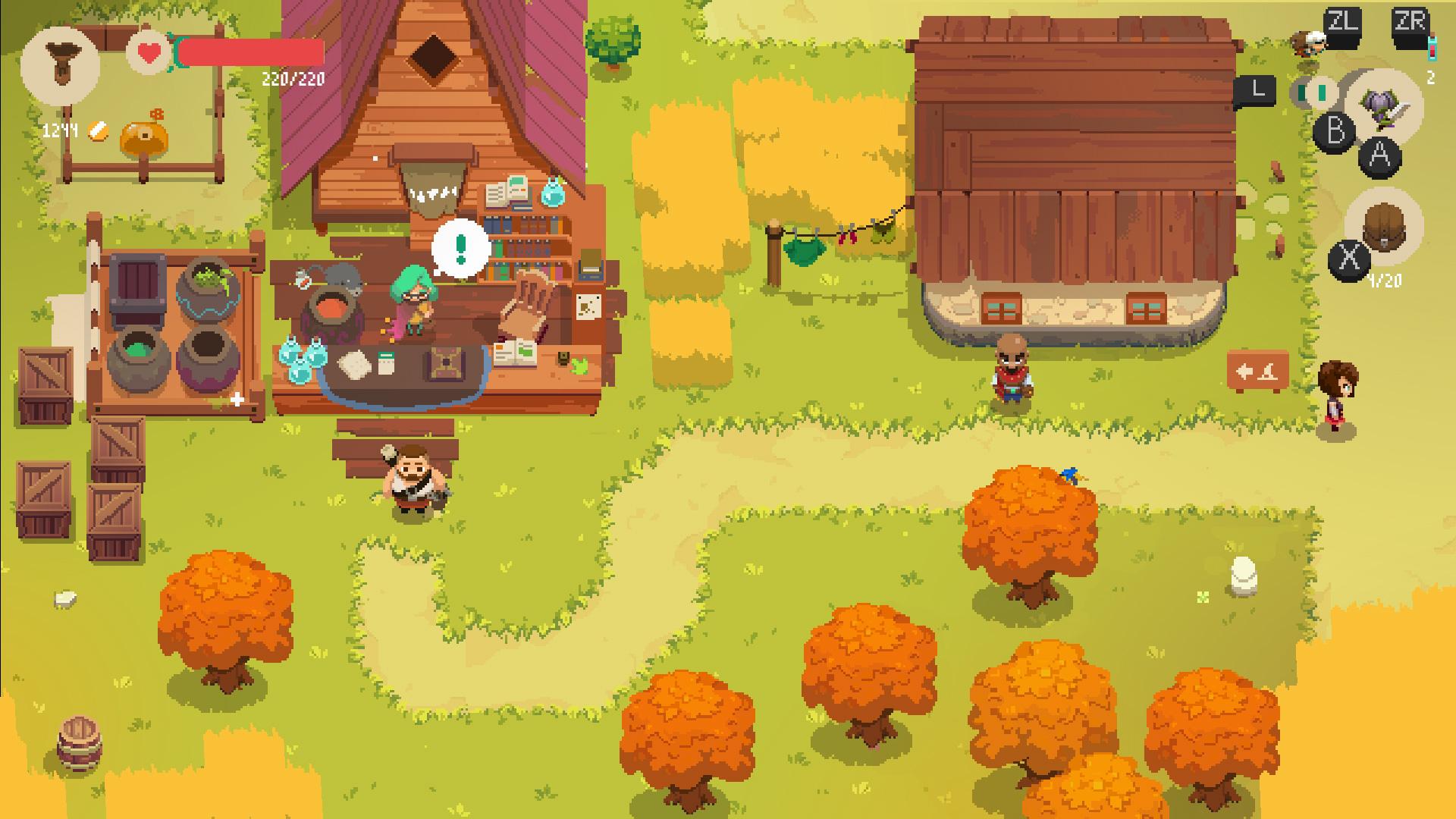 Dungeon-crawling shopkeeper RPG Moonlighter hits Switch in November screenshot