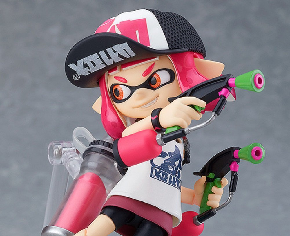 Cute Splatoon Inkling Girl Figma now available for pre-order screenshot