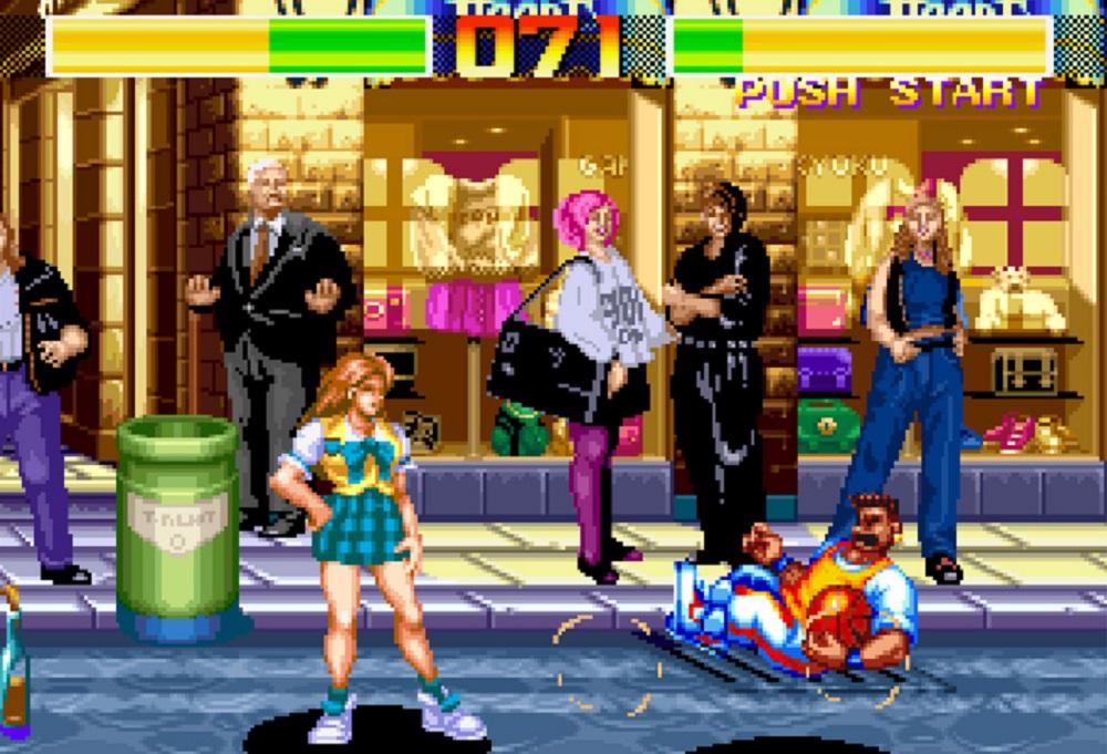 Mortal what-now? Aggressors of Dark Kombat returns on modern platforms screenshot