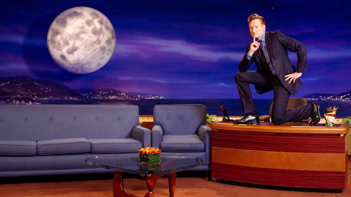 Conan O'Brien's full catalog of late night episodes will be online in January screenshot