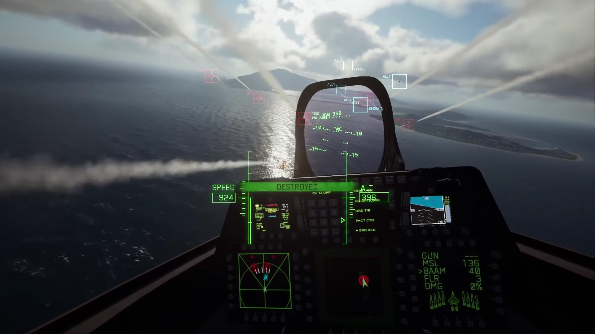 I have high hopes for Ace Combat 7's VR mode