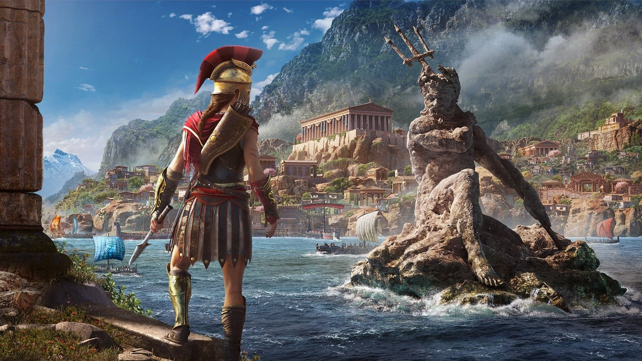 Japan is getting a cloud based version of Assassin's Creed Odyssey on Switch screenshot