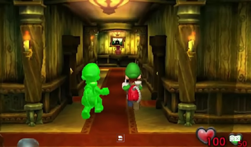 Luigi's Mansion remake will include two-player co-op mode screenshot