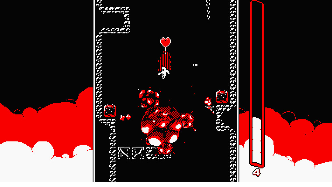 Downwell is going to be just perfect on Switch screenshot