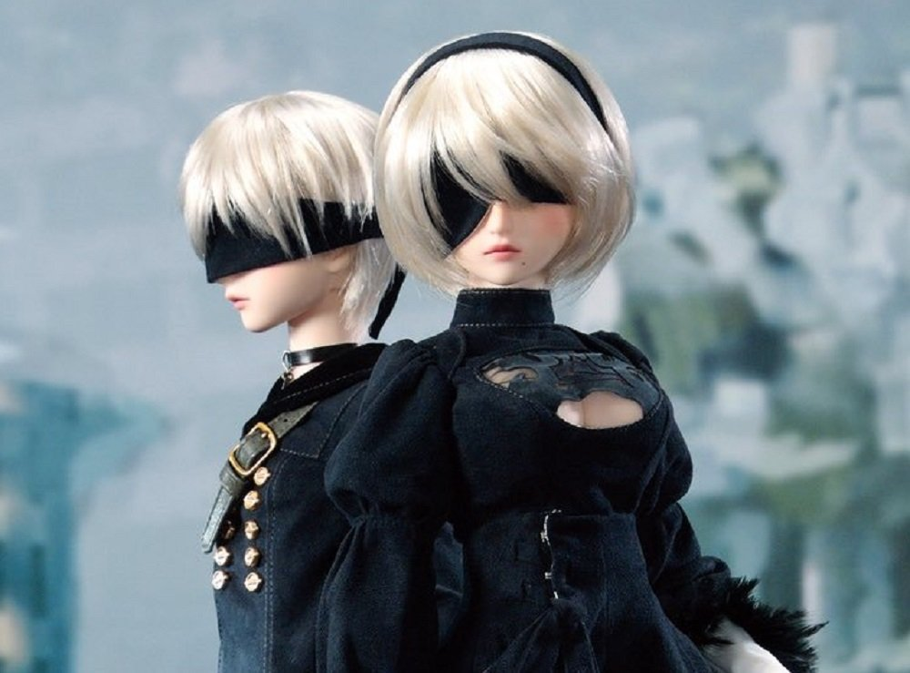Pretty premium dolls of NieR: Automata's 2B and 9S coming from Volks screenshot
