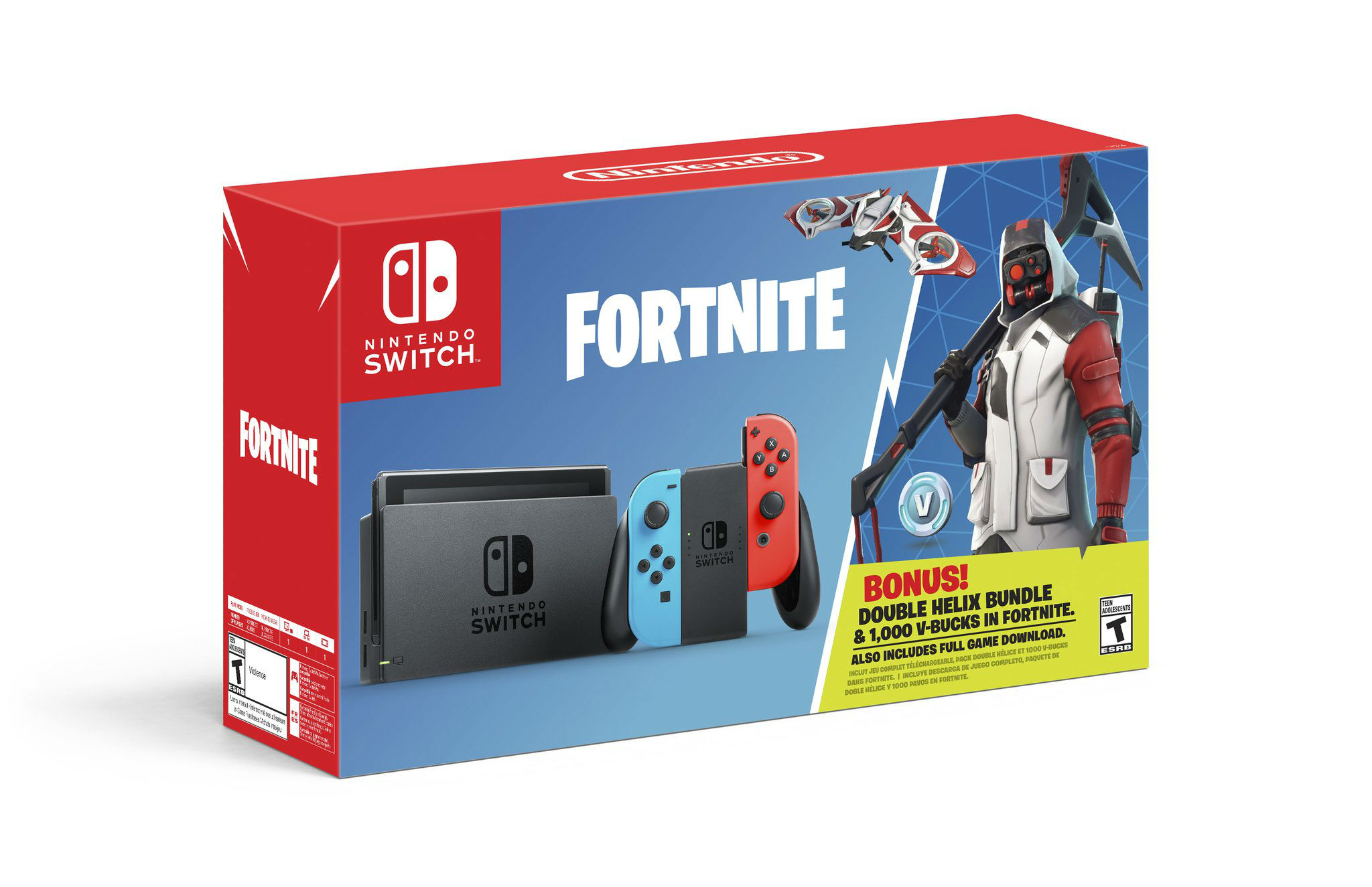 Nintendo gets in on the Fortnite craze with a Switch bundle screenshot