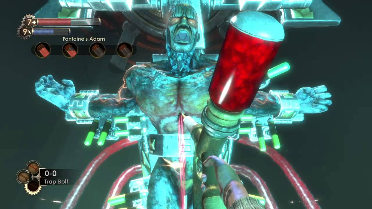 Yeah, Ken Levine didn't like BioShock's final fight either screenshot