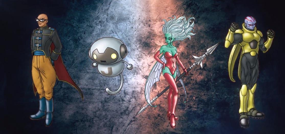 When Jump Force launches in February it'll rock four original characters from Akira Toriyama screenshot