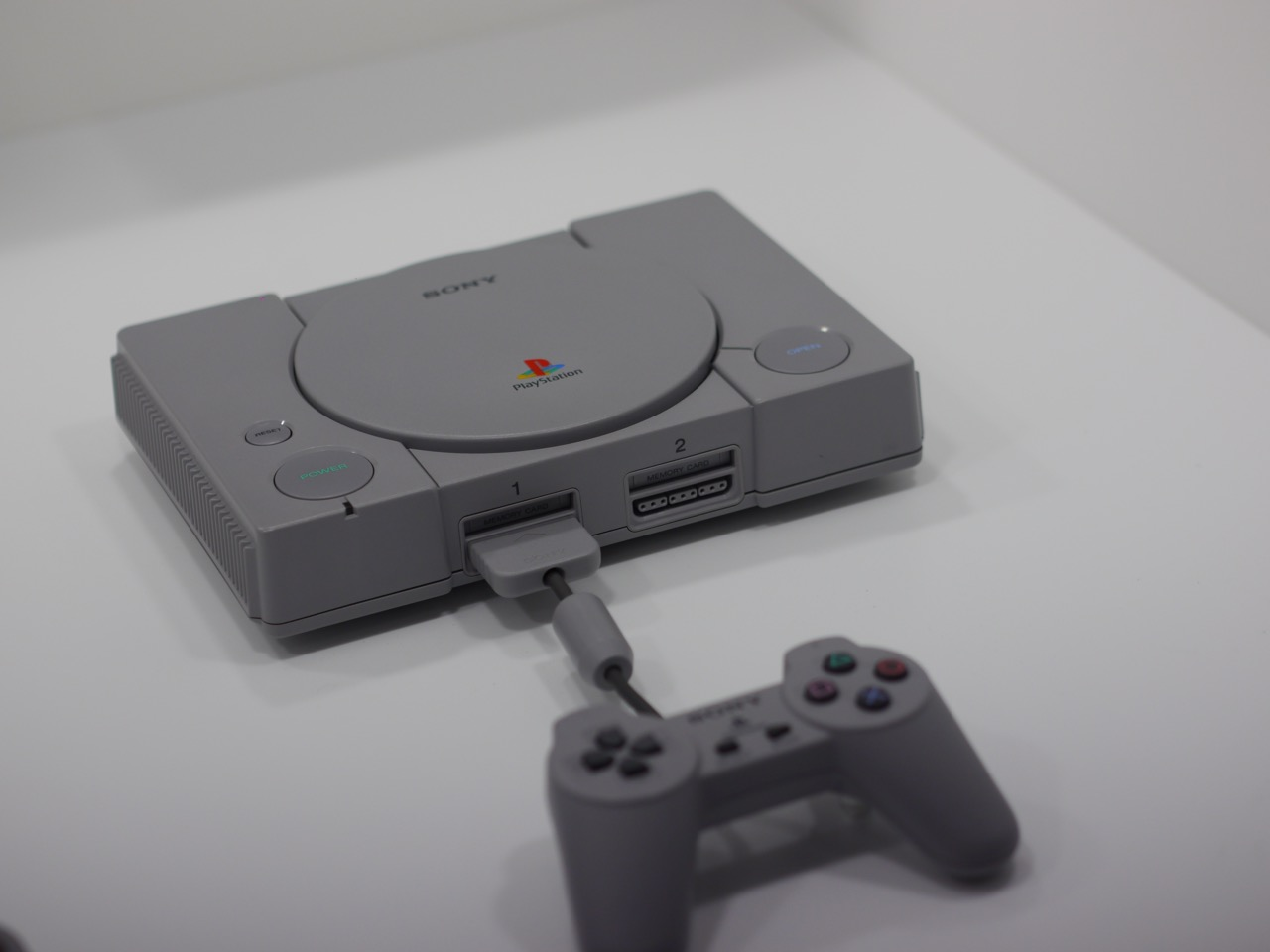We've got some new up-close pictures of the PlayStation Classic at TGS screenshot