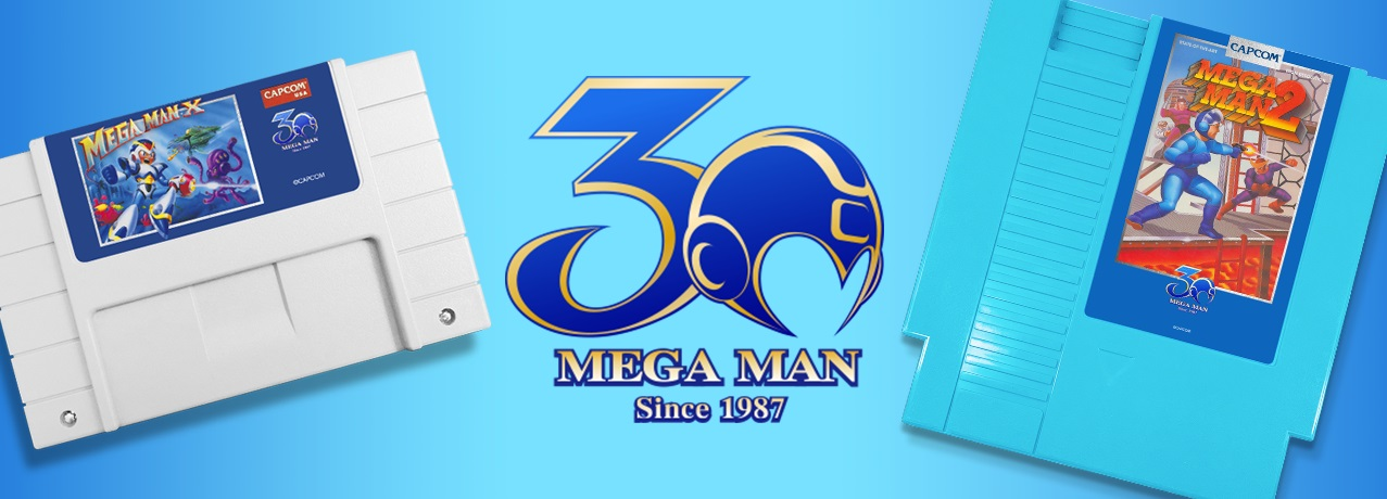 iam8bit's Mega Man 2 and X reproduction carts are now available screenshot