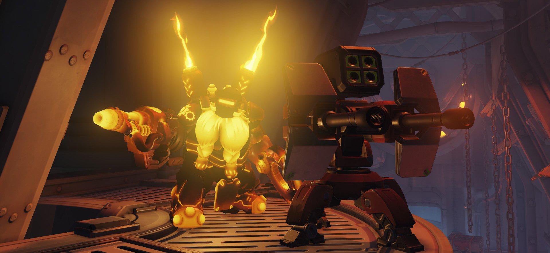 Torbjorn is about to become much more viable in Overwatch screenshot