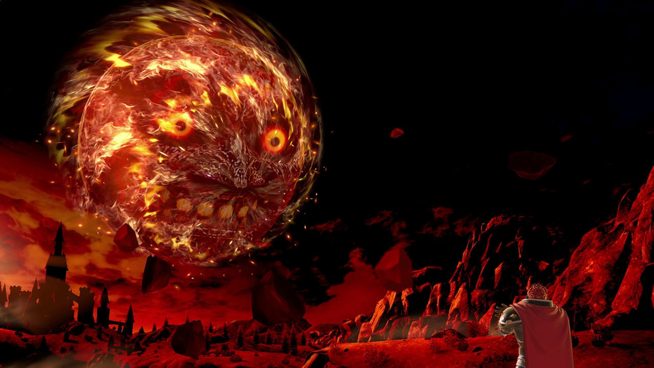 18 years later, the Moon from Majora's Mask still freaks me out screenshot