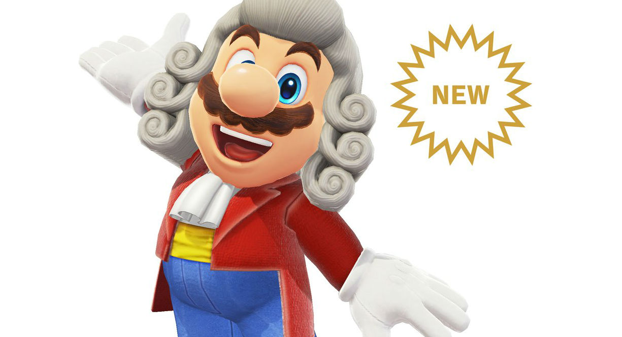 New Super Mario Odyssey DLC includes snazzy conductor outfit screenshot