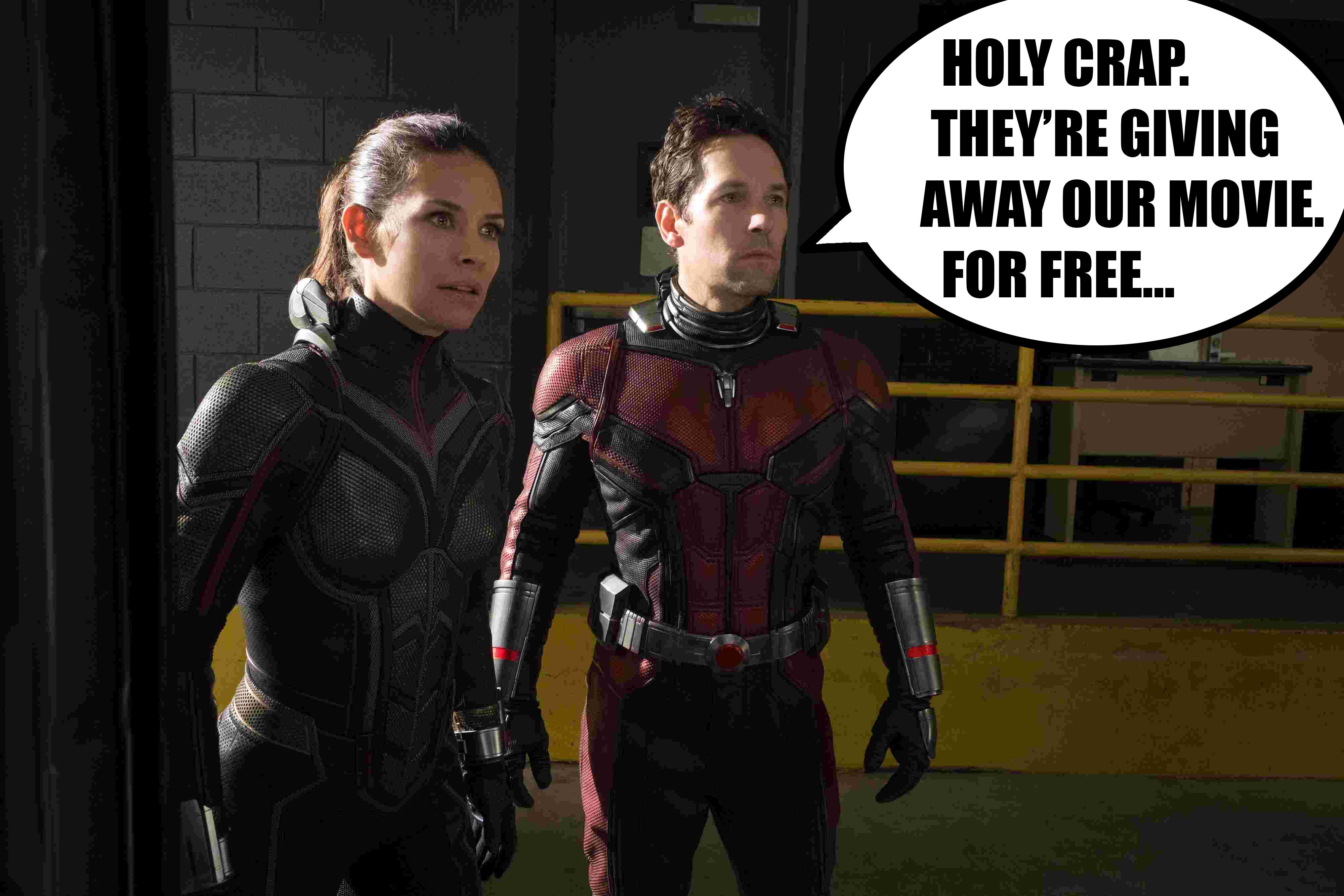 Giveaway: Ant-Man and the Wasp Blu-ray screenshot