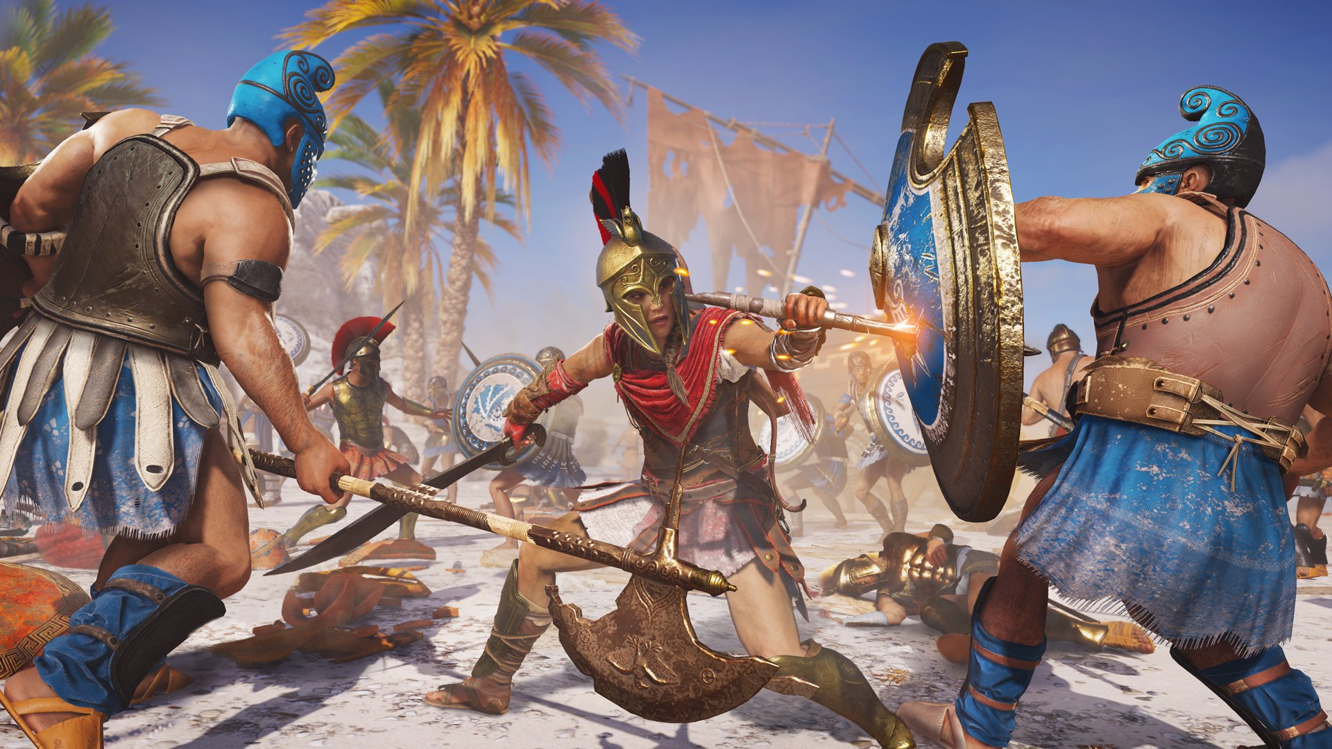 Assassin's Creed Odyssey best deals from Ultimate to Standard Edtions screenshot