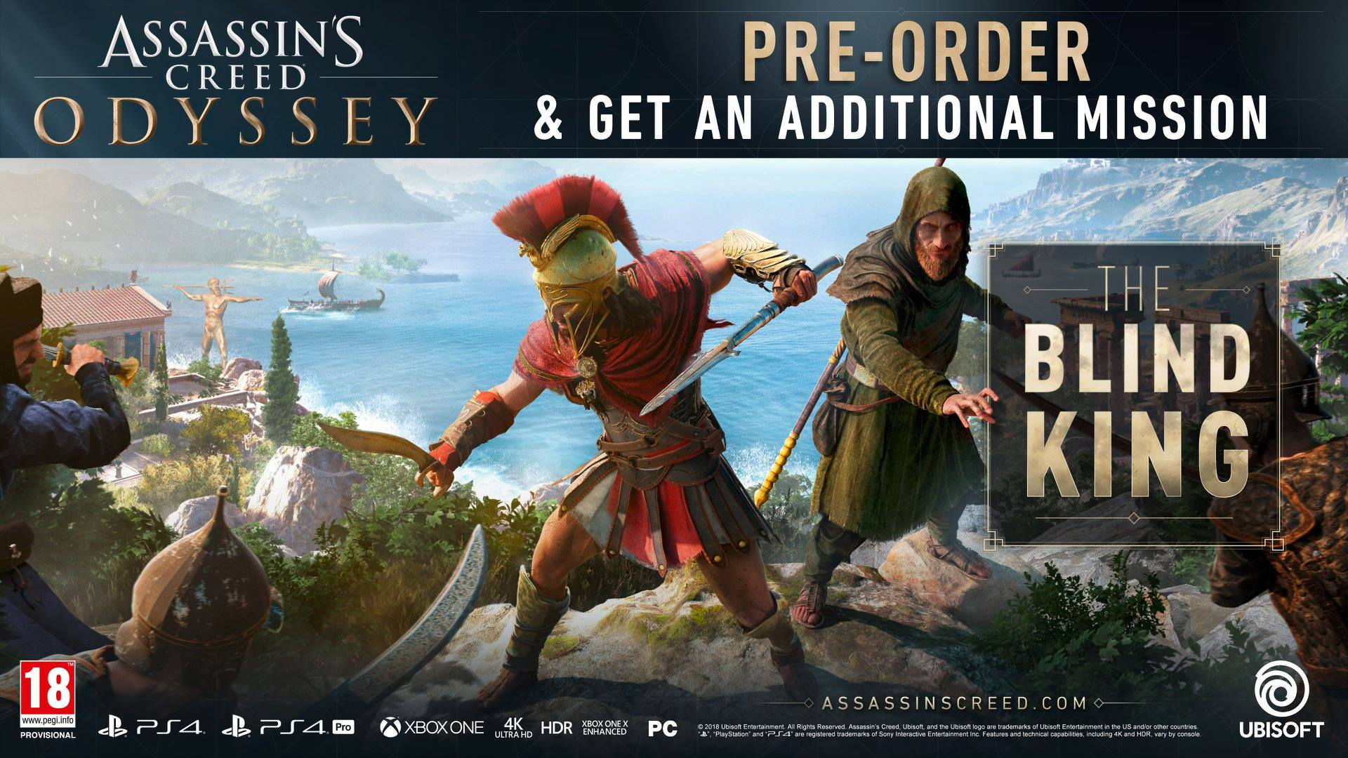 Assassin's Creed Odyssey patch 1.02 detailed, full release notes revealed