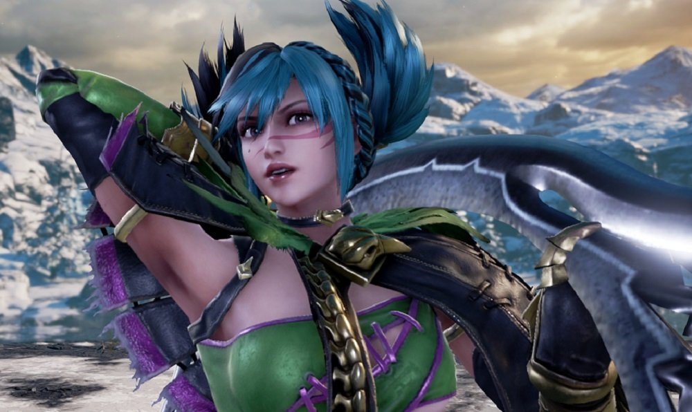 It's harder to swallow Tira's 'Day One DLC' gimmick when she's live in the Soulcalibur VI beta today screenshot