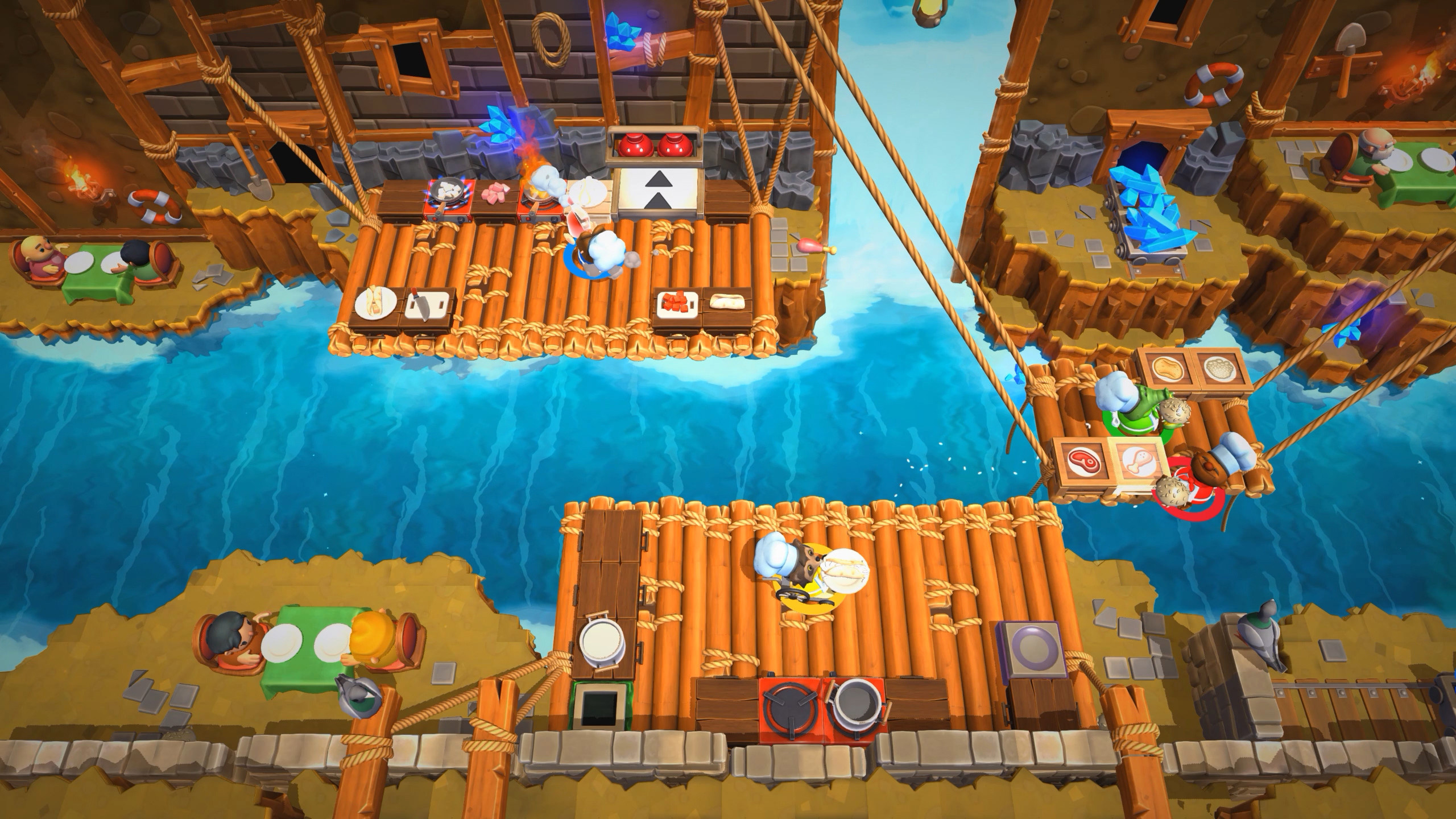 Overcooked 2 adds New Game+ mode on Switch and teases beach DLC screenshot