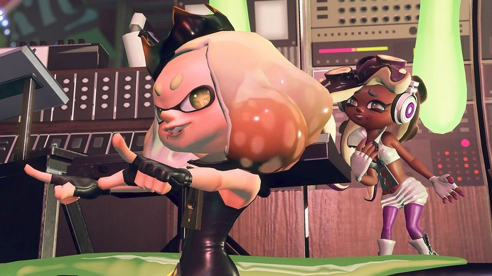 Splatoon 2 wants you to get your creep on for Splatoween party and splatfest screenshot