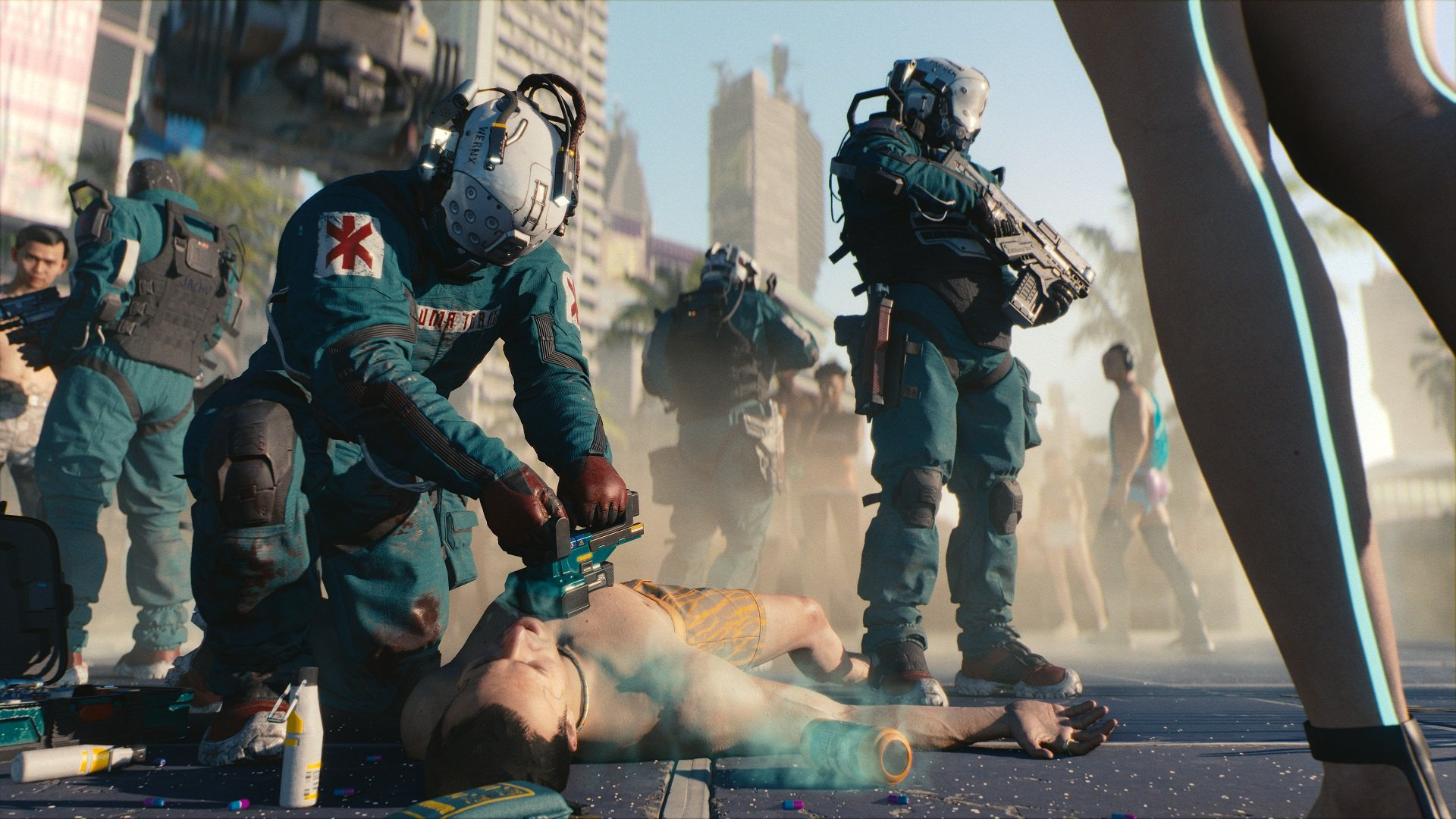 CD Projekt Red and Warner Bros. team up again, this time for Cyberpunk 2077 screenshot