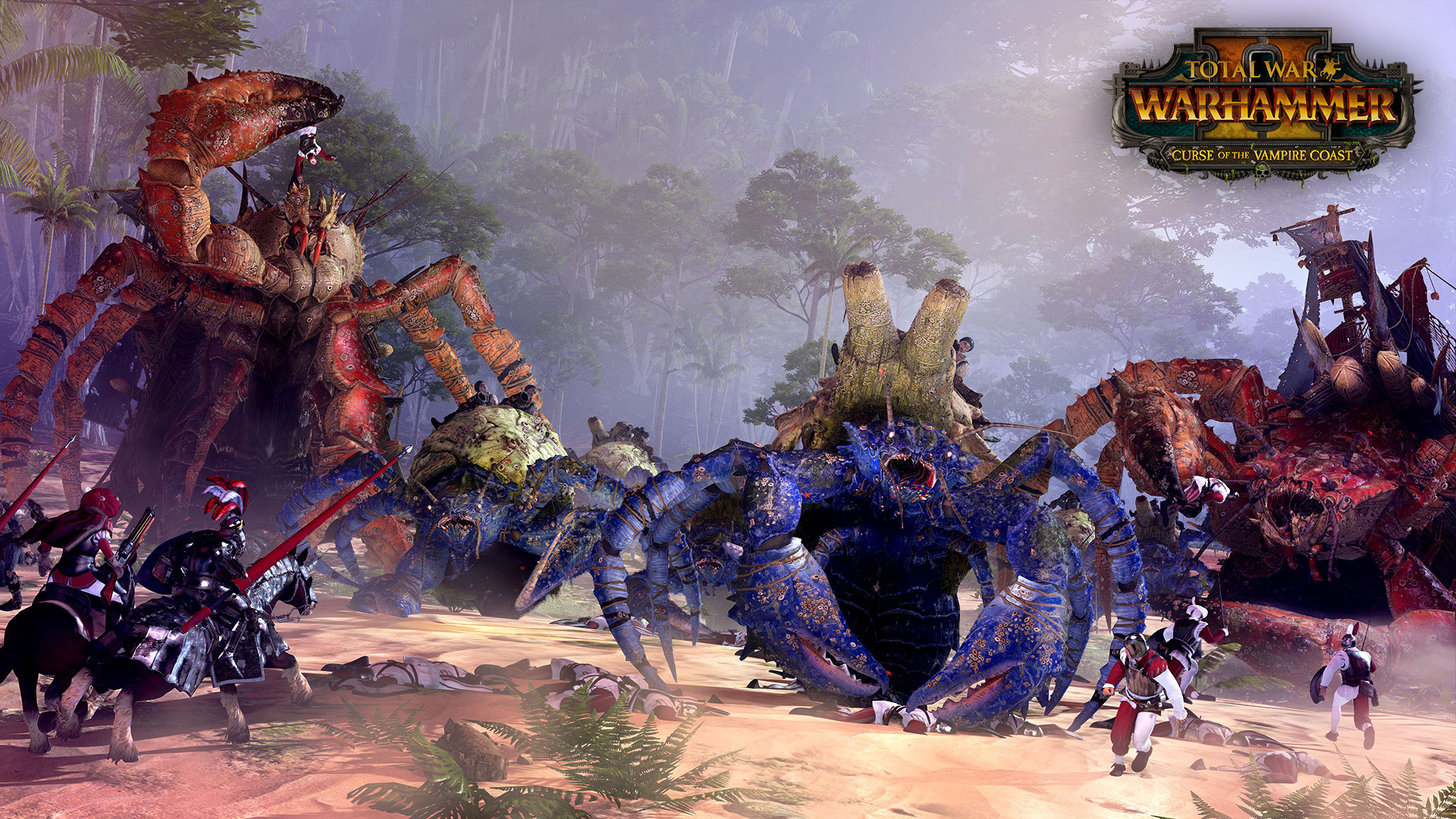 total war warhammer ii s next dlc blends vampires pirate zombies