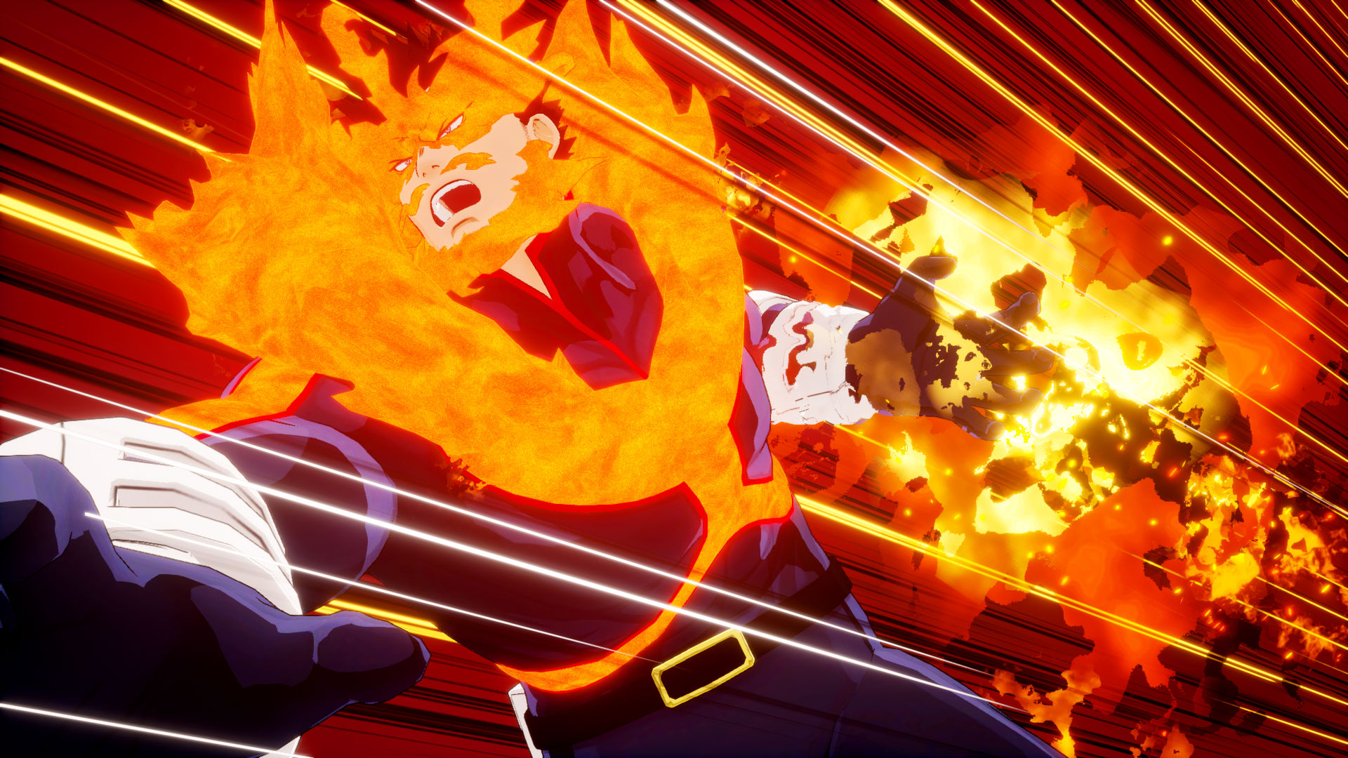 Endeavor is coming to the My Hero Academia game as DLC screenshot