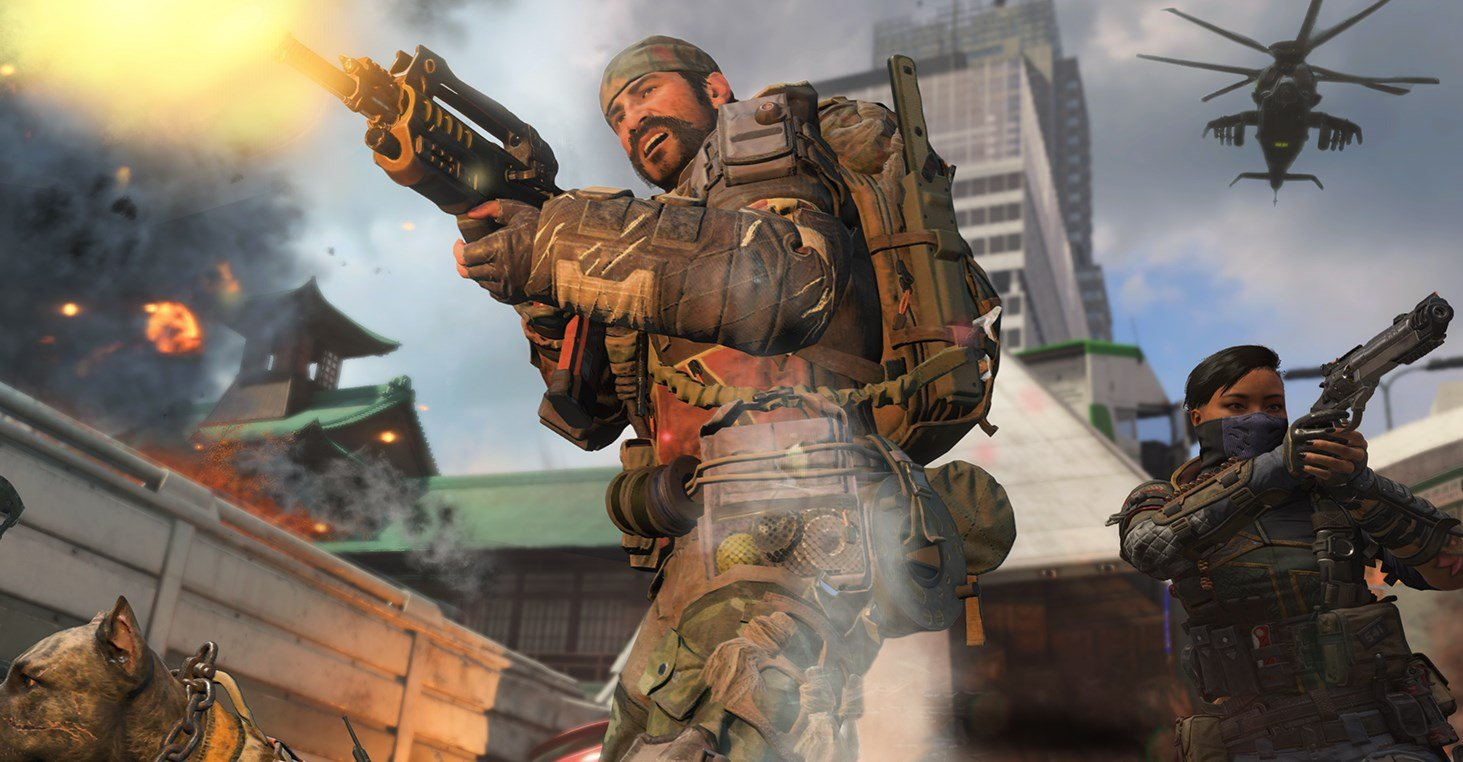 Black Ops 4's day-one patch is a whopping 50 GB screenshot