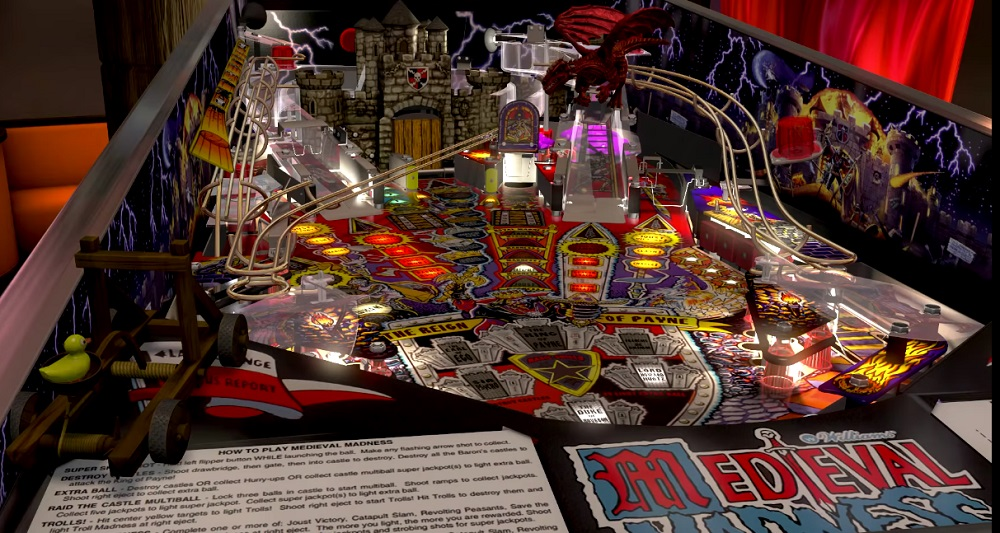 Pinball FX 3's Williams tables are available now, feature