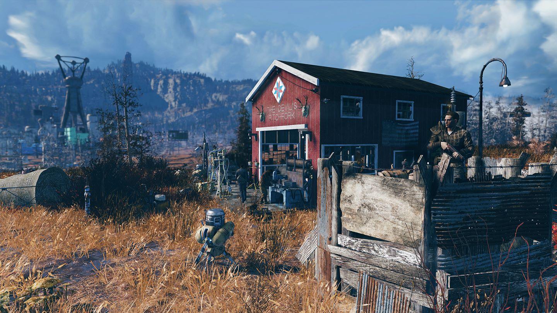 Here's what Fallout 76's full map looks like screenshot