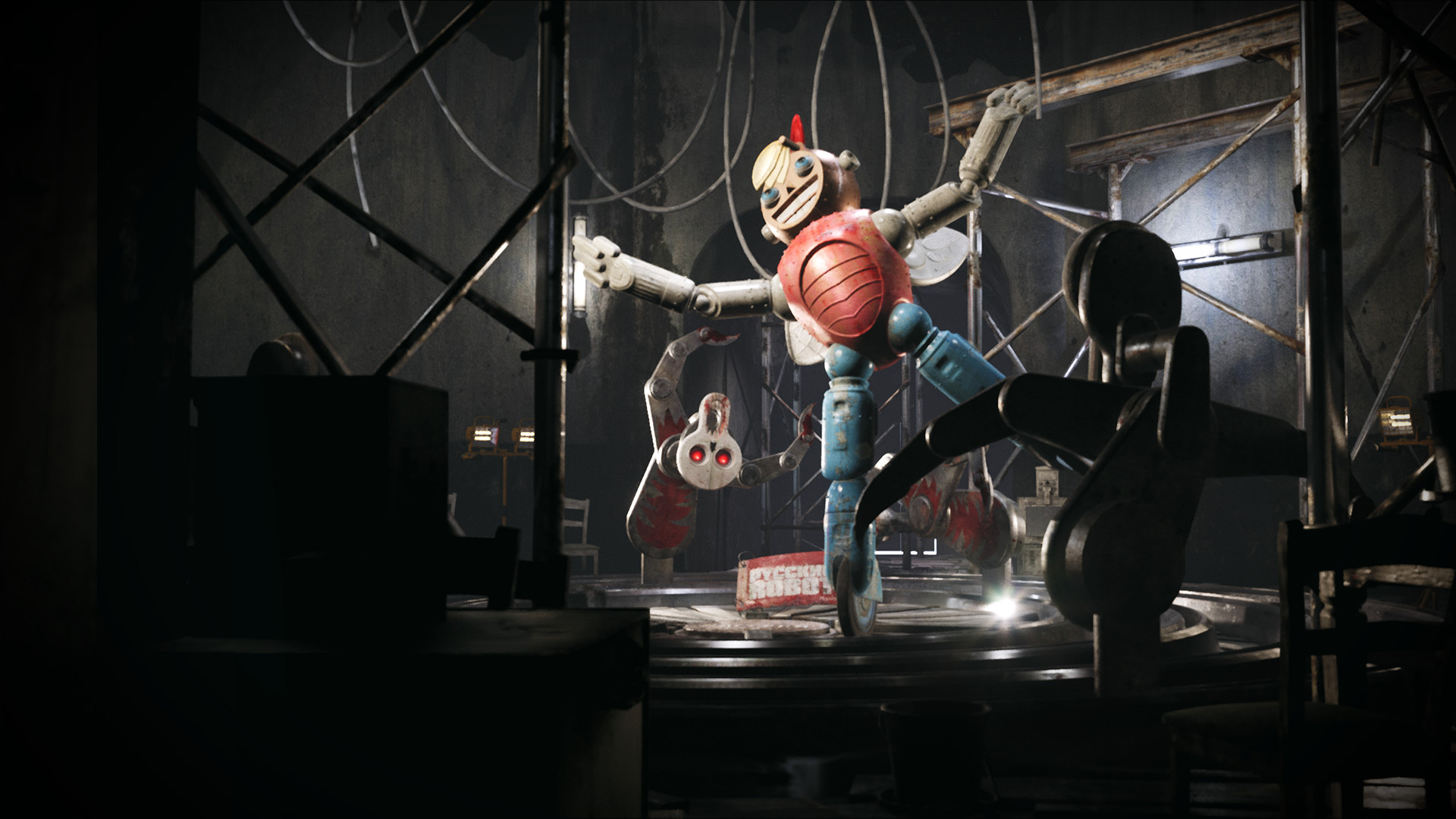 Atomic Heart has one highly unsettling clown screenshot