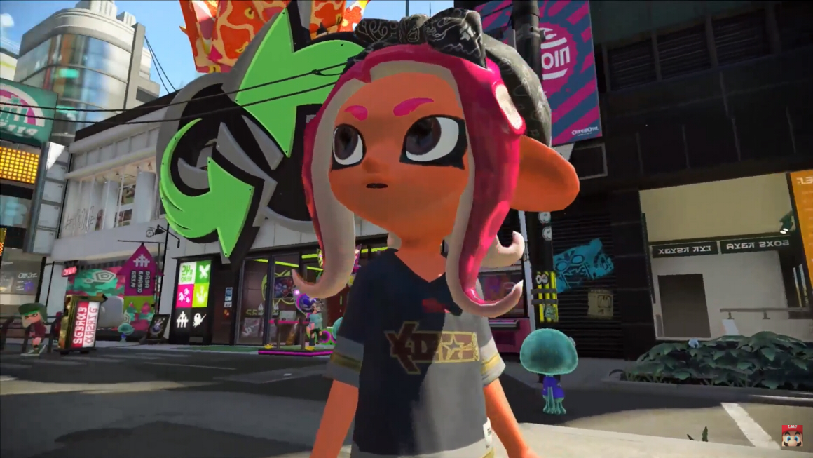 Get ready for the Octoling amiibos with this nifty trailer screenshot