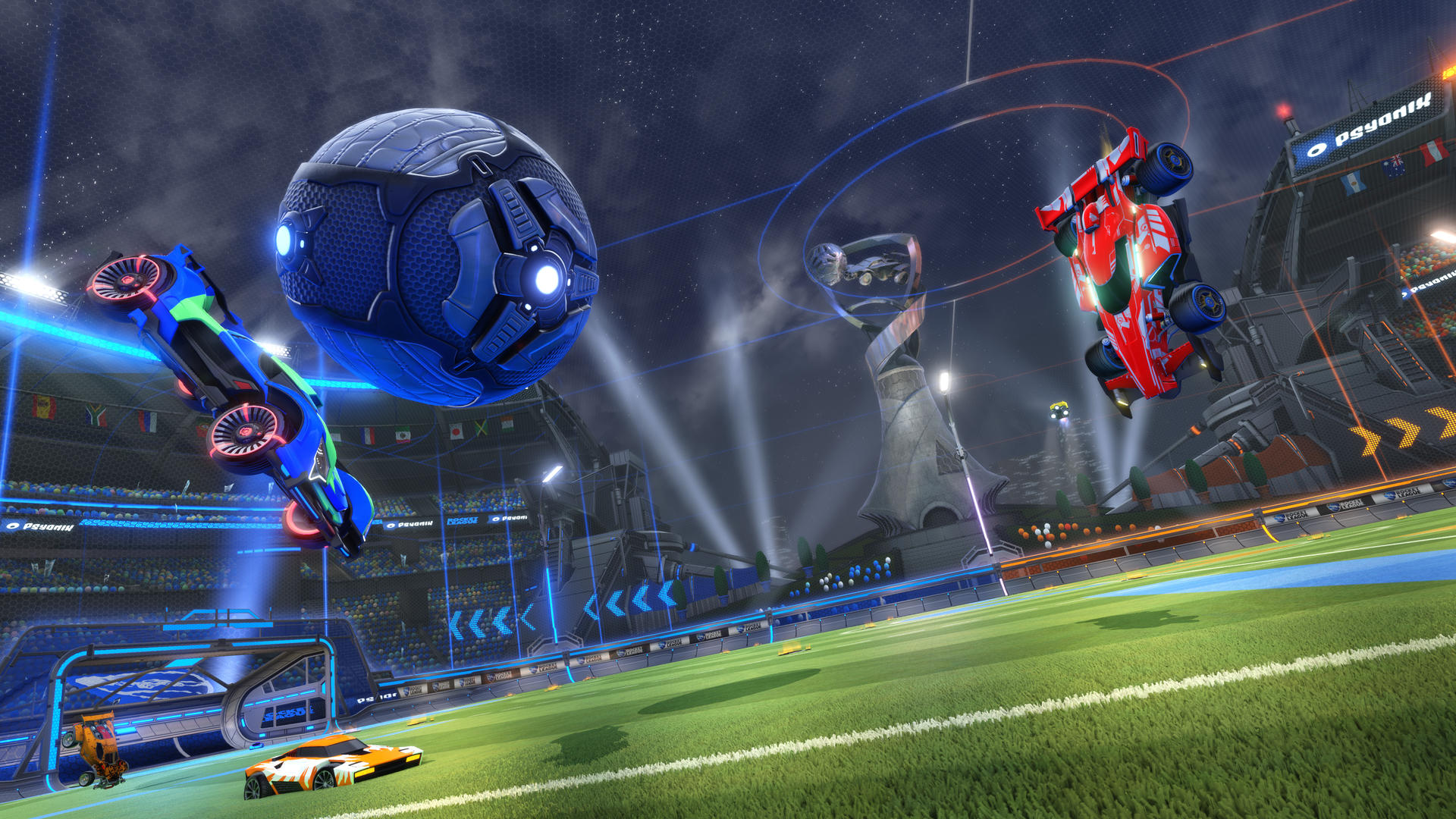 Rocket League is running a double XP weekend for the first time ever screenshot