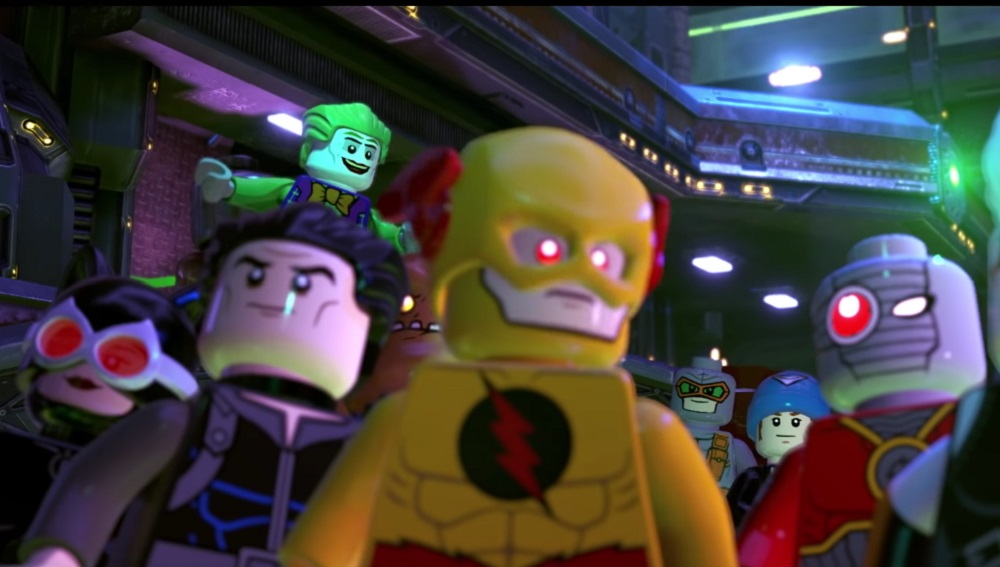 LEGO DC Super-Villains launch trailer introduces The Justice Syndicate screenshot