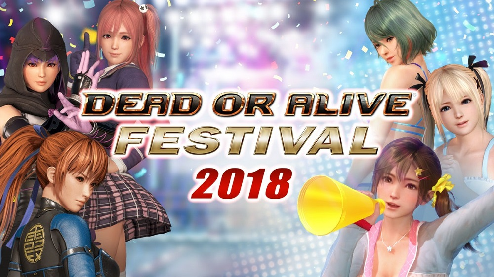 Dead or Alive Festival in Tokyo will feature demos, cosplay and more