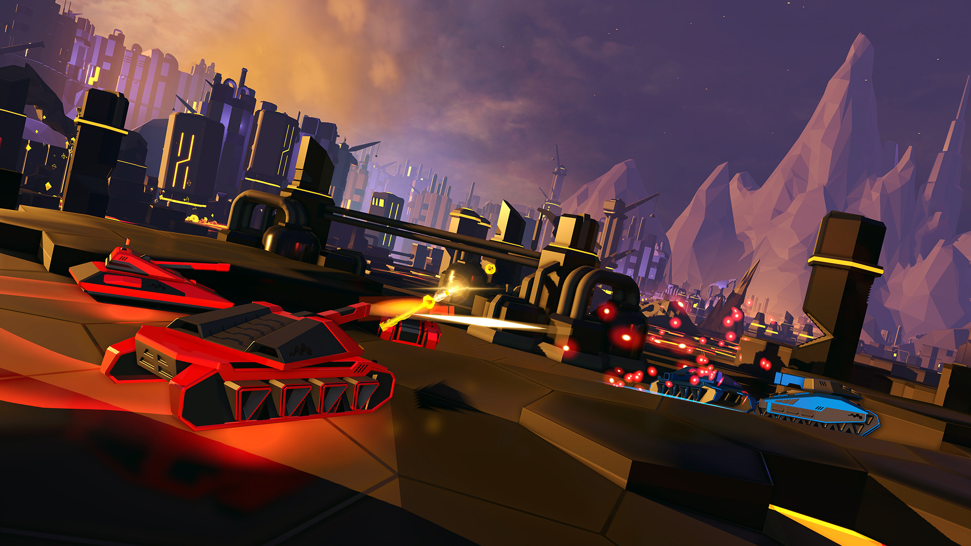 Battlezone's rogue-lite co-op combat is worth another look on Switch